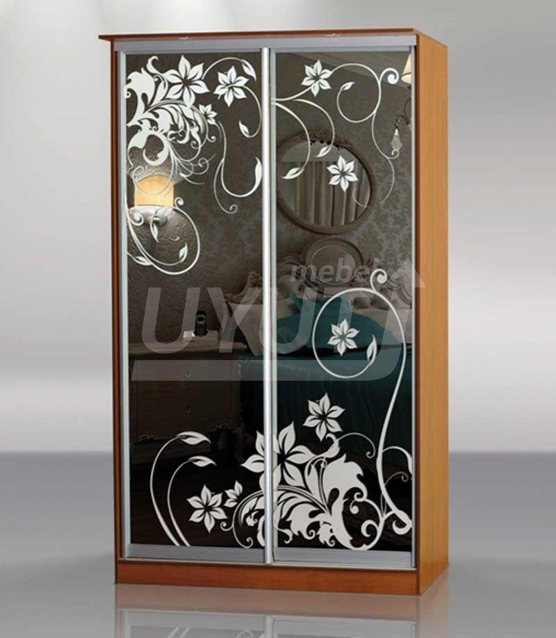 Рисунки на зеркале шкафа