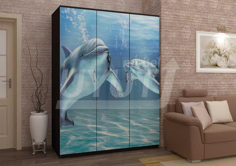 Шкаф-Дельфин-фотопечать