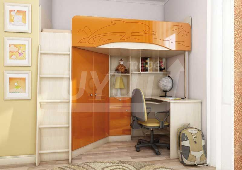 бемби-3-мдф-оранж(ШхВхГ)-2030х1950х1200