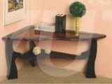 стол журнальный со стеклом сатурн мдф.  525х1000х680___