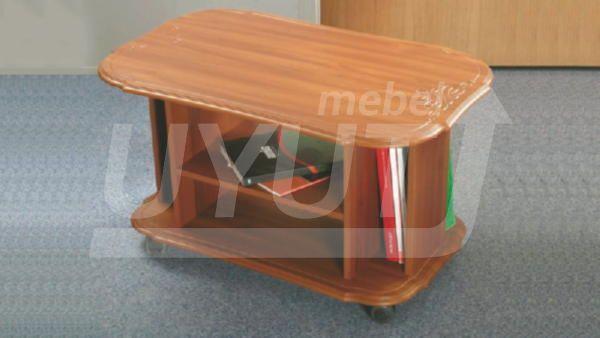 стол журнальный яхонт  мдф.  600х900х600___